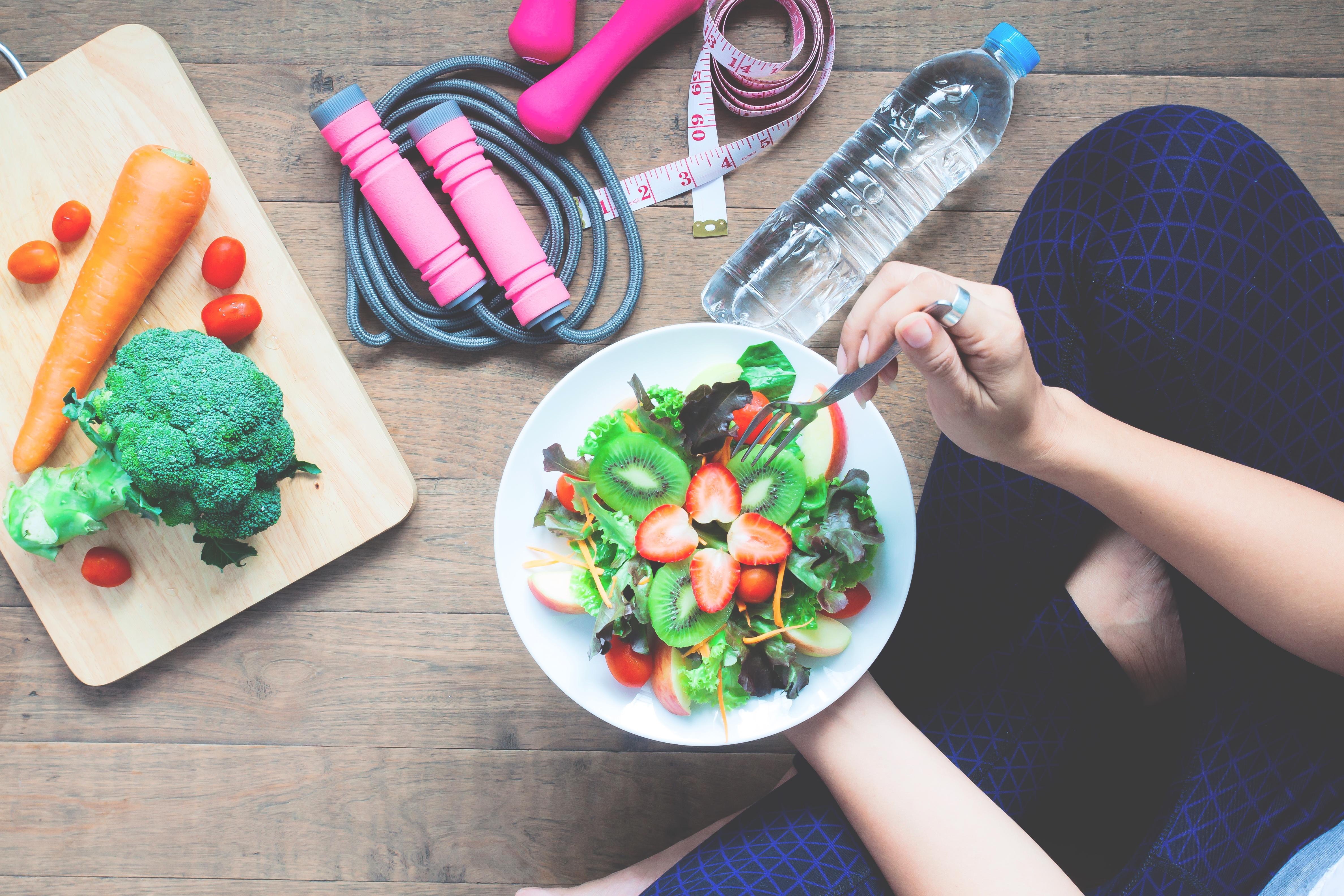 eliminare il grasso dell'addome